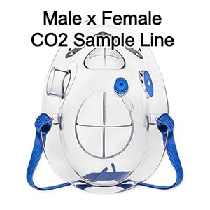 Procedural Oxygen & Capnography Mask EZ-Lite 1003-MF