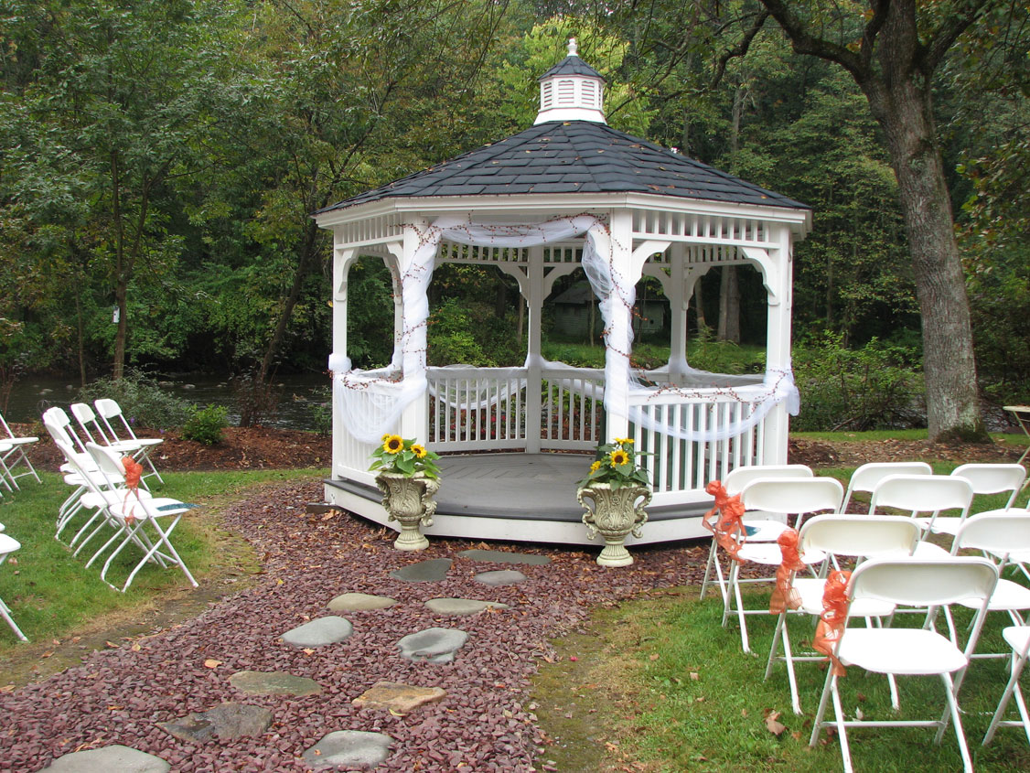 Awesome Gazebo Decorations For Wedding Pictures Styles Ideas