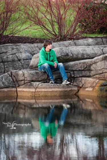 Senior Pictures Knoxville TN, Hardin Valley Academy, Senior Guy, Outdoor Senior Portraits, Senior, Fall Senior Pictures, Reflection Images