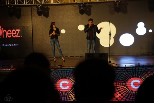 Mani and Hira Hosting The Cheezmall.com Show