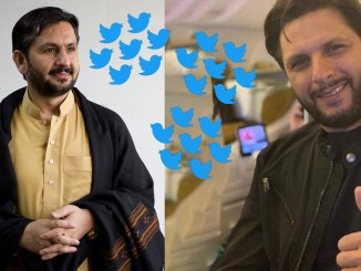 Shahid Afridi responds to Saleem Safi