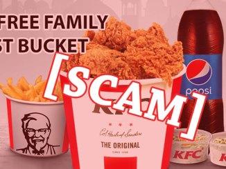 KFC WhatsApp Scam