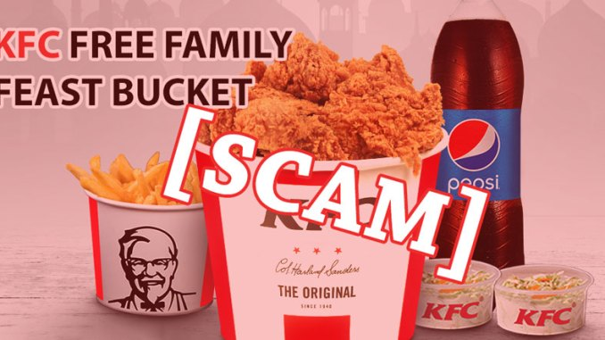 KFC WhatsApp Scam