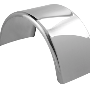 Bells-And-Whistles-Chrome-Shop-Trucks-Aftermarket-Accessories-Fenders-Hogebuilt-430-Stainless-Steel-Single-Axle-Fender-Peterbilt-Kenworth-Freightliner-Mack-Volvo-Lonestar