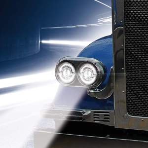 Bells-And-Whistles-Chrome-Shop-Trucks-Aftermarket-Accessories-Lighting-Trux-Accessories-Premium-LED-Projector-Headlight-White-Auxiliary-Accent-Peterbilt-Kenworth-Freightliner-Mack-Volvo-Lonestar