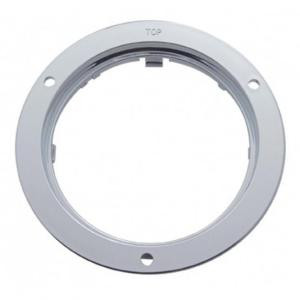 "United Pacific 4"" Chrome Mounting Bezel"