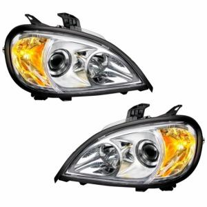 United Pacific 1996+ Freightliner Columbia Projection Headlight Set