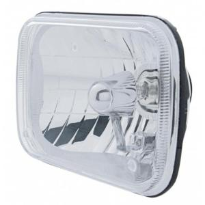 "United Pacific  5 x 7"" Crystal Headlight - Rectangular"