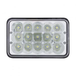 "United Pacific 15 High Power LED 4"" x 6"" Rectangular Light"