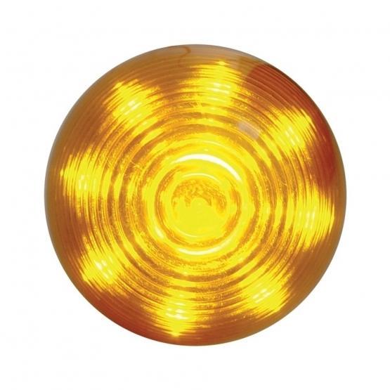 Bells-And-Whistles-Chrome-Shop-Trucks-Aftermarket-Accessories-Lighting-United Pacific-Amber Beehive Marker Light-Peterbilt-Kenworth-Freightliner-Mack-Volvo-Lonestar