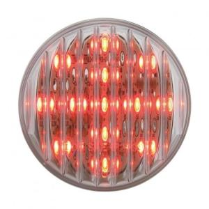 "United Pacific 13 LED 2 1/2"" Clearance/Marker Light - Red LED/Clear Lens- On"