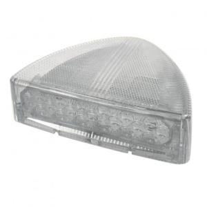 United Pacific 30 LED Peterbilt Low Profile Turn Signal Light - Amber LED/Clear Lens