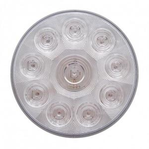 Bells-And-Whistles-Chrome-Shop-Trucks-Aftermarket-Accessories-Lighting-United Pacific-Red LED Clear Lens Stop Turn Tail Light-Peterbilt-Kenworth-Freightliner-Mack-Volvo-Lonestar