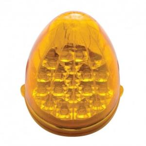 United Pacific 19 LED Reflector Grakon 1000 Cab Light - Amber LED/Amber Lens