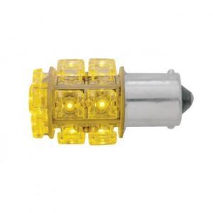 United Pacific 3 LED 360 Degree 1156 Bulb Amber