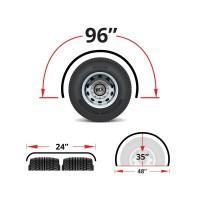 """96"""" Heavy Duty Super Long Single Axle Fenders"""