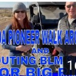 Honda Walk Around and Scouting BLM