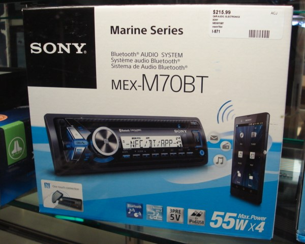 M70BT Store Box