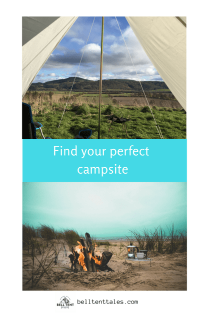 How to find a (not too wild) place to camp