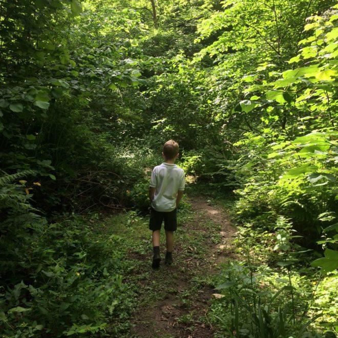Exploring the glen