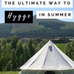 Camping: the ultimate way to hygge in the summer