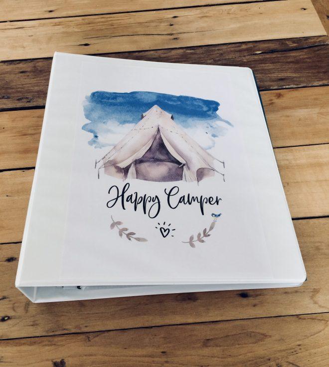 Camping binder