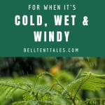 Camping Tips for when it's cold, wet and windy |Photo by SHAH Shah on Unsplash