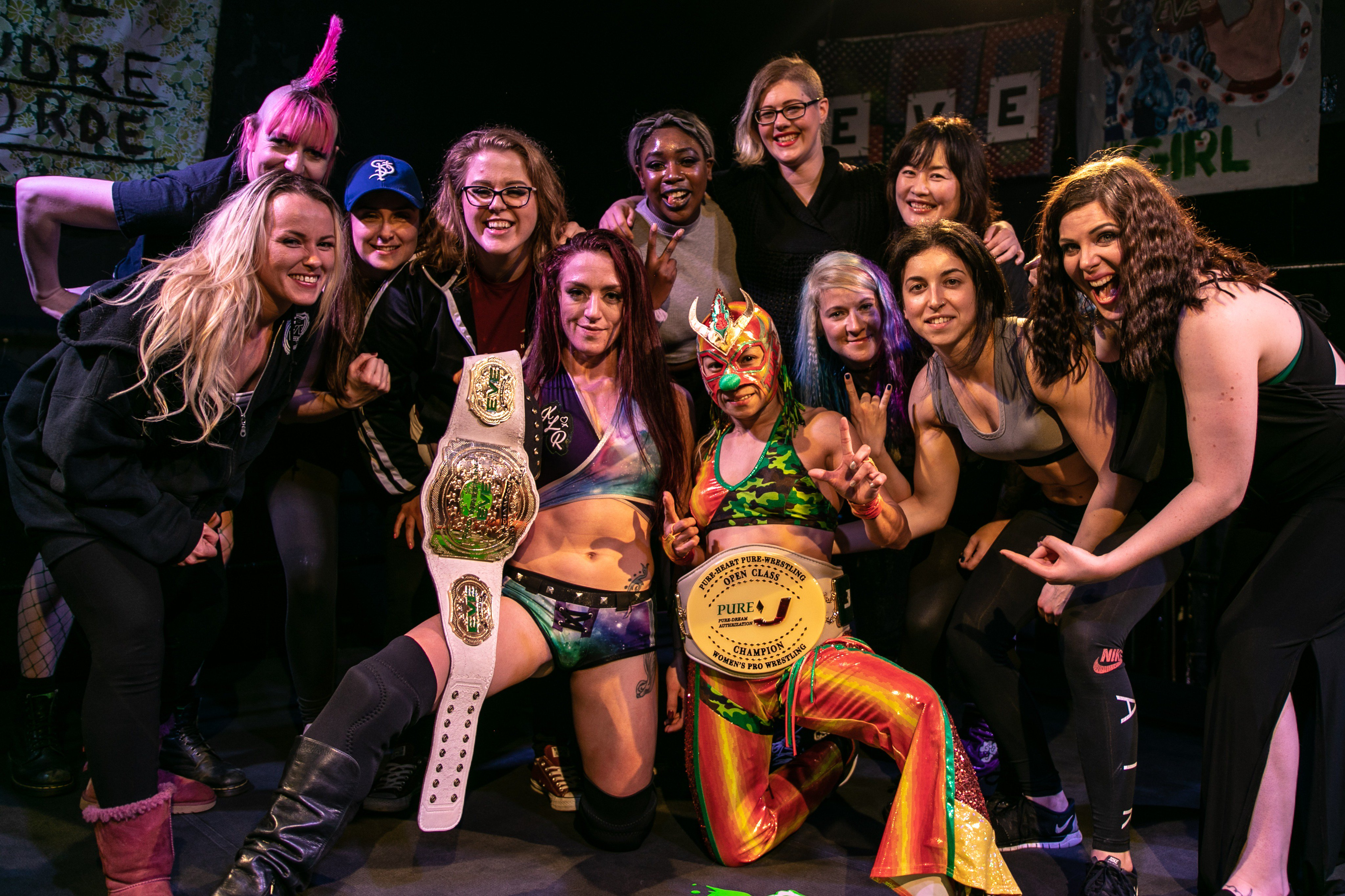 Make the Jump from WWE with these Independent Women's Promotions