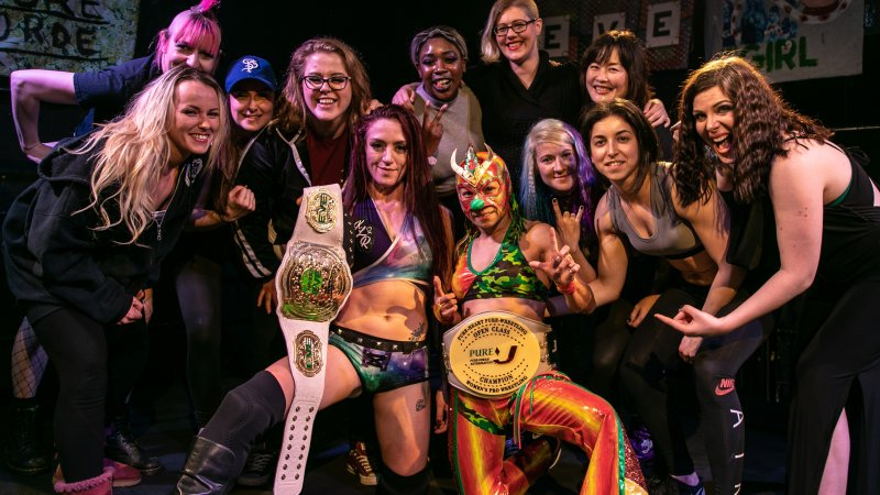 Pro Wrestling: EVE announce Brighton show, mystery September show