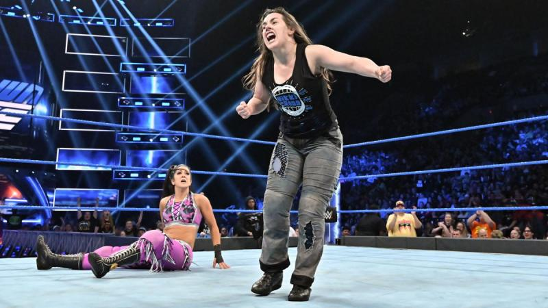 Nikki Cross should be added to the title match at Extreme Rules