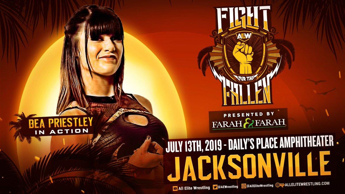 Bea Priestley, Britt Baker will appear at Fight For The Fallen