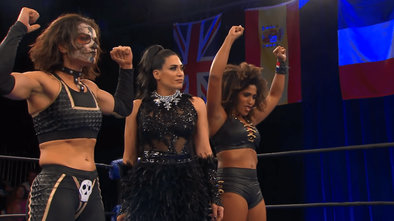 The NWA quietly put together a diverse women's division