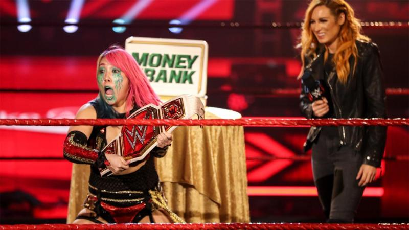 Becky Lynch opens up about passing the title on to Asuka