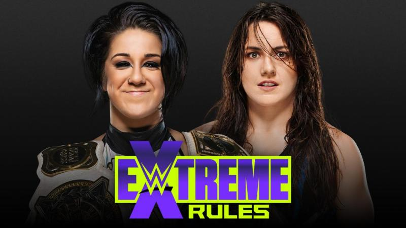 Nikki Cross will face Bayley at WWE Extreme Rules