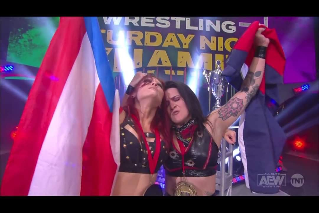 Ivelisse and Diamante