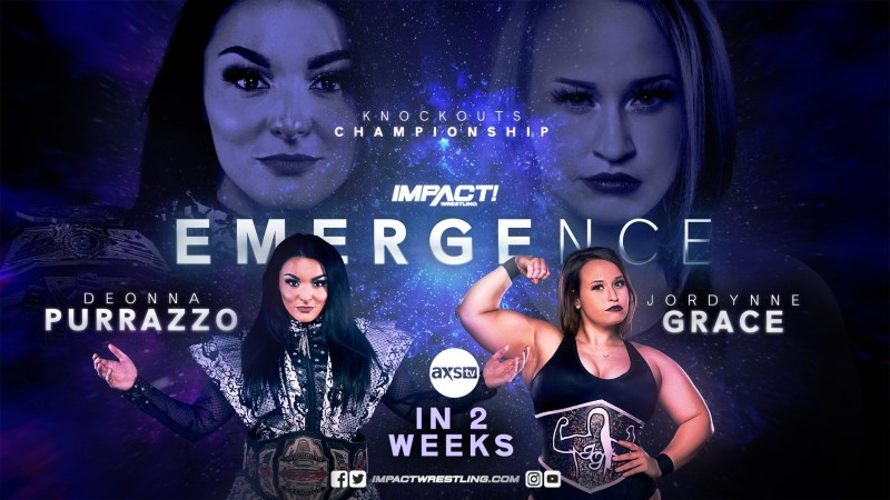Knockouts title match to headline IMPACT Emergence