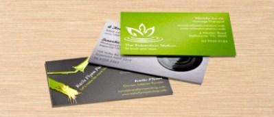 Spot-Gloss Business Cards