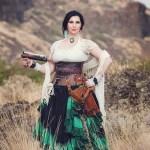 Rebecca Wolf-Nail Steampunk