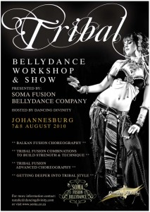 Soma Fusion Belly Dance Company Tribal workshops