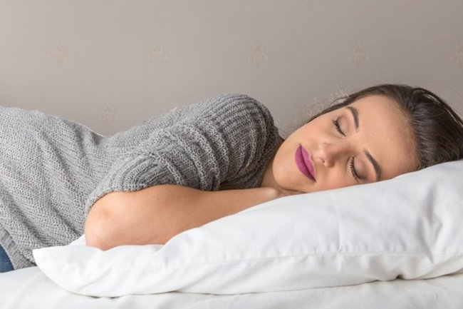comfortable pillow and bed