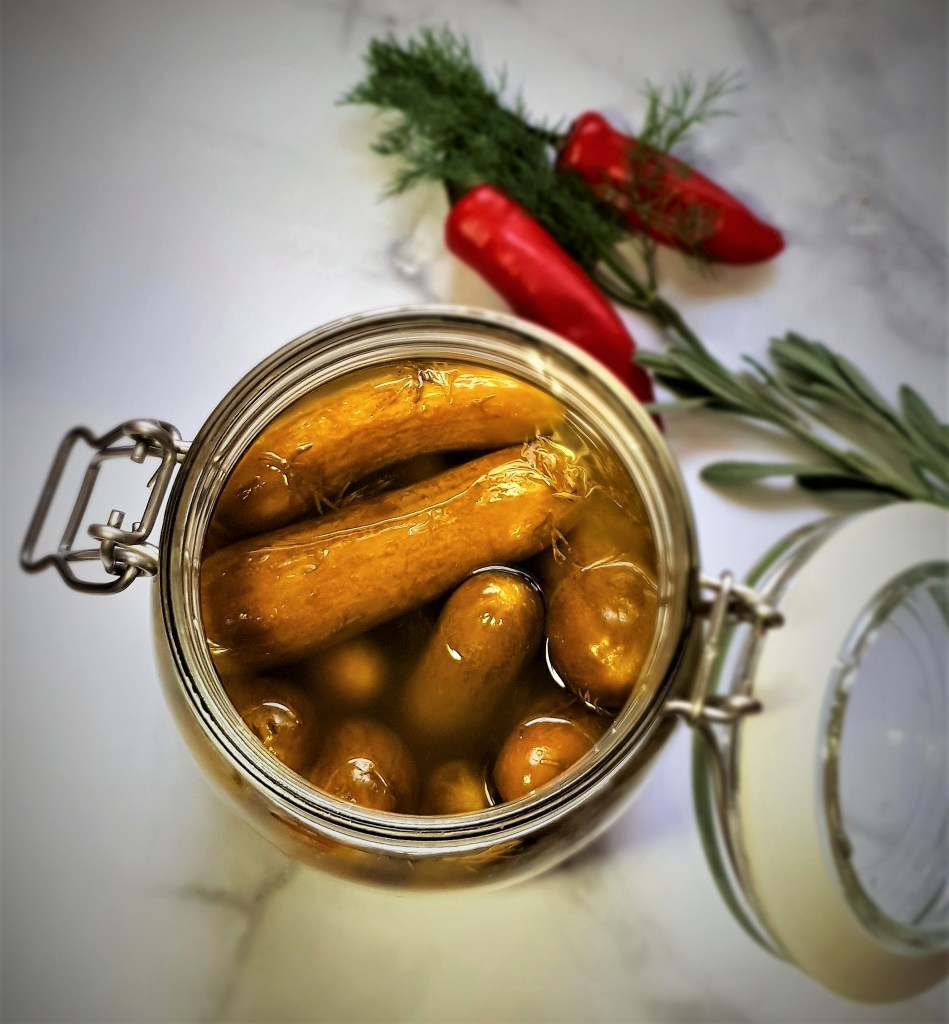 מלפפון חמוץ דל בפודמאפ, Low FODMAP pickles