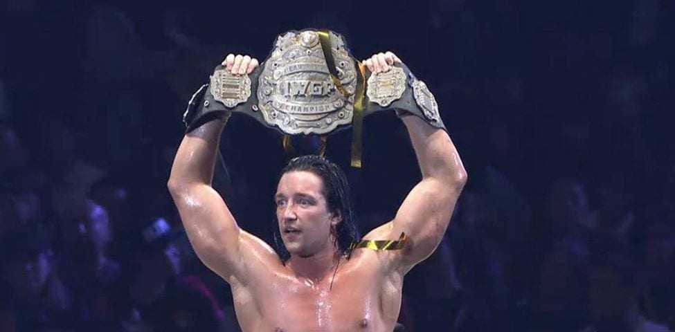 Jay White: The New IWGP Heavyweight Champion - Belly Up Sports