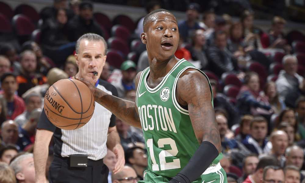 the best attitude 997ef 3d3a1 Scary Terry Rozier Smear Campaign - Belly Up Sports