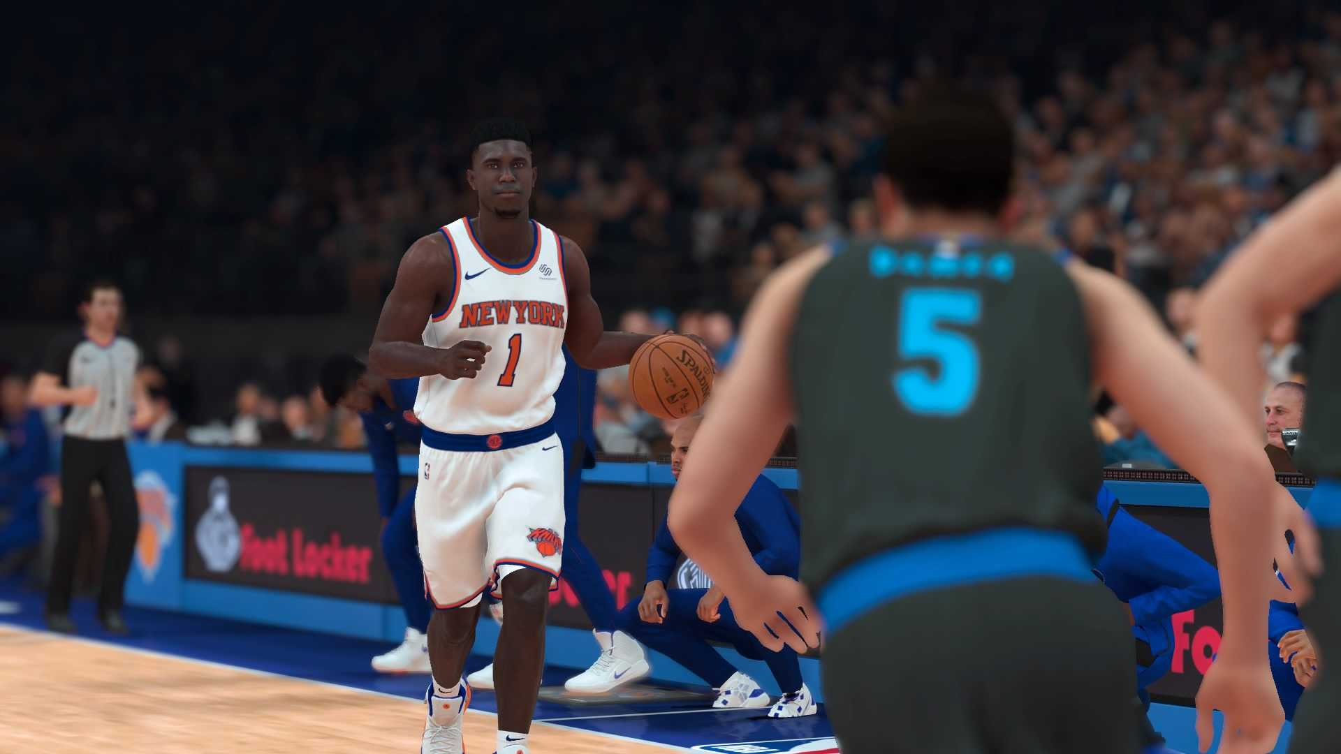 classic fit e7cde 23c85 What If? Featuring Zion Williamson Powered by NBA2K19 ...