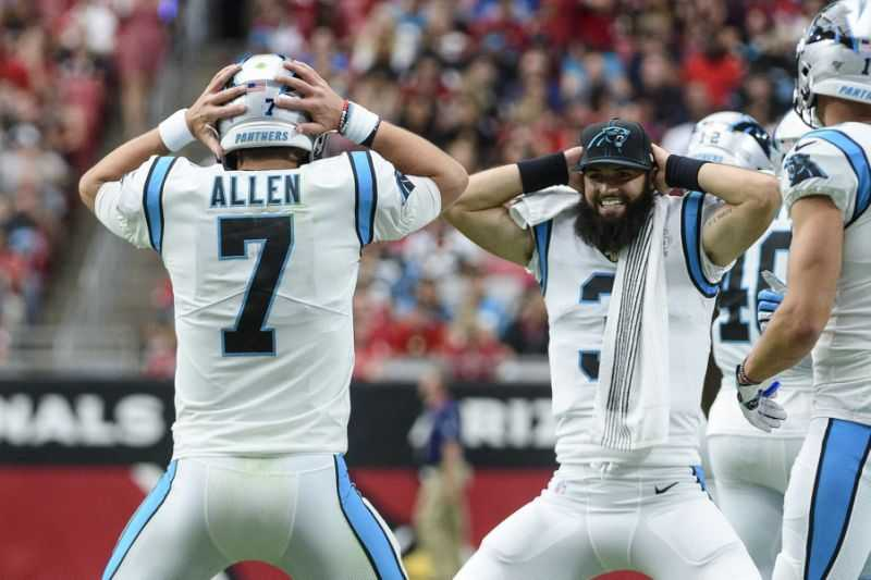 on sale 1a4b5 6a727 Kyle Allen To Start Again This Week for the Carolina Panthers
