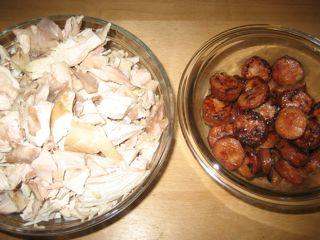 Chicken, andouille