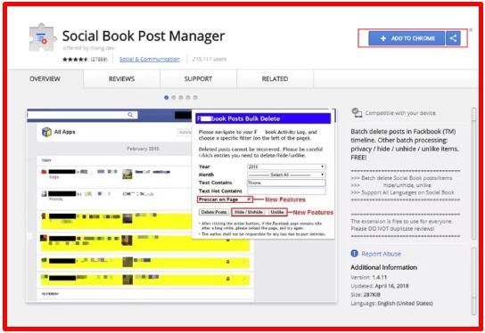 Clear Activity Log Facebook 2020