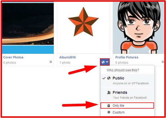 How do you Make Facebook Albums Private | Facebook Private Photo Album