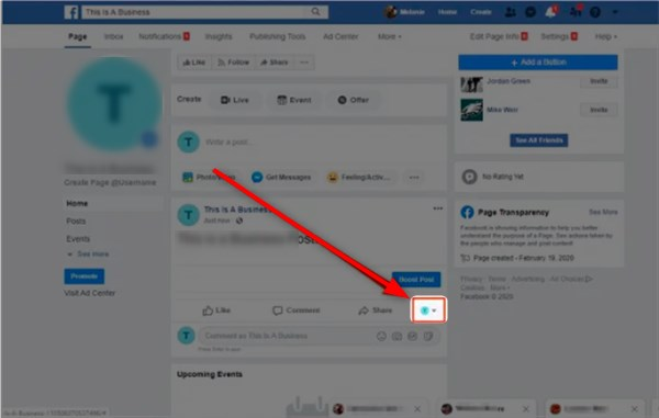 How Can I Comment Using My Facebook Business Page - Comment As a Facebook Page