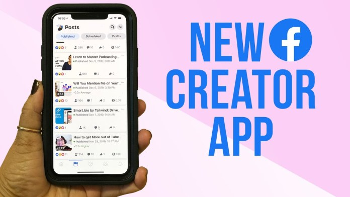 How to Use the Facebook Creator App